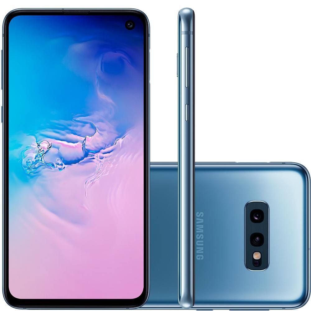 Smartphone Galaxy S10e, 128GB, 16MP, Tela 5.8, Azul, SM-G970F/1DL - Samsung