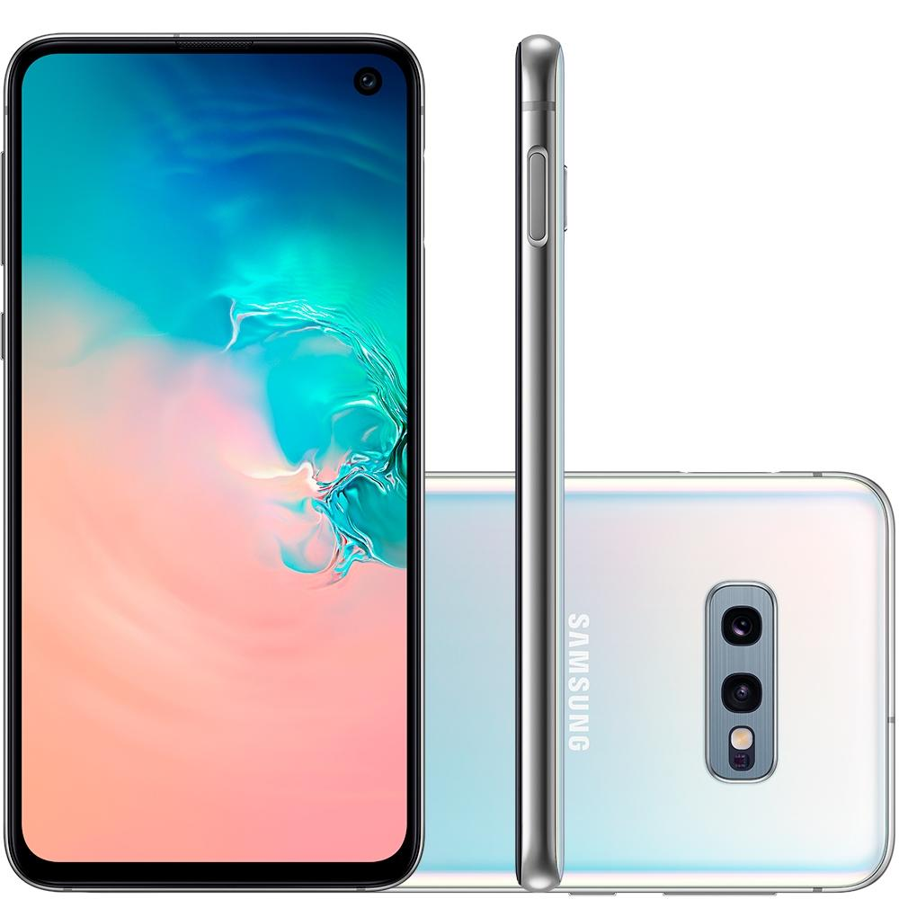 Smartphone Galaxy S10e, 128GB, 16MP, Tela 5.8, Branco, SM-G970F/1DL - Samsung
