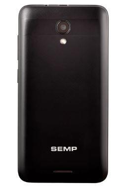 Smartphone GO! 3c Preto Tela 4 3G+Wi-Fi Android Cam Traseira 5MP e Frontal 5MP 8GB - Semp