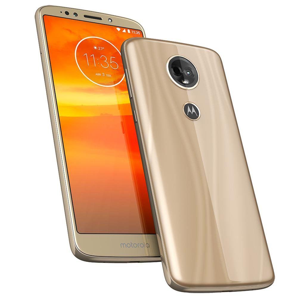 Smartphone Moto E5 Plus, Dual Chip, Ouro Tela 6, 4G+WiFi, Android 8.0, 12MP, 16GB XT1924 - Motorola