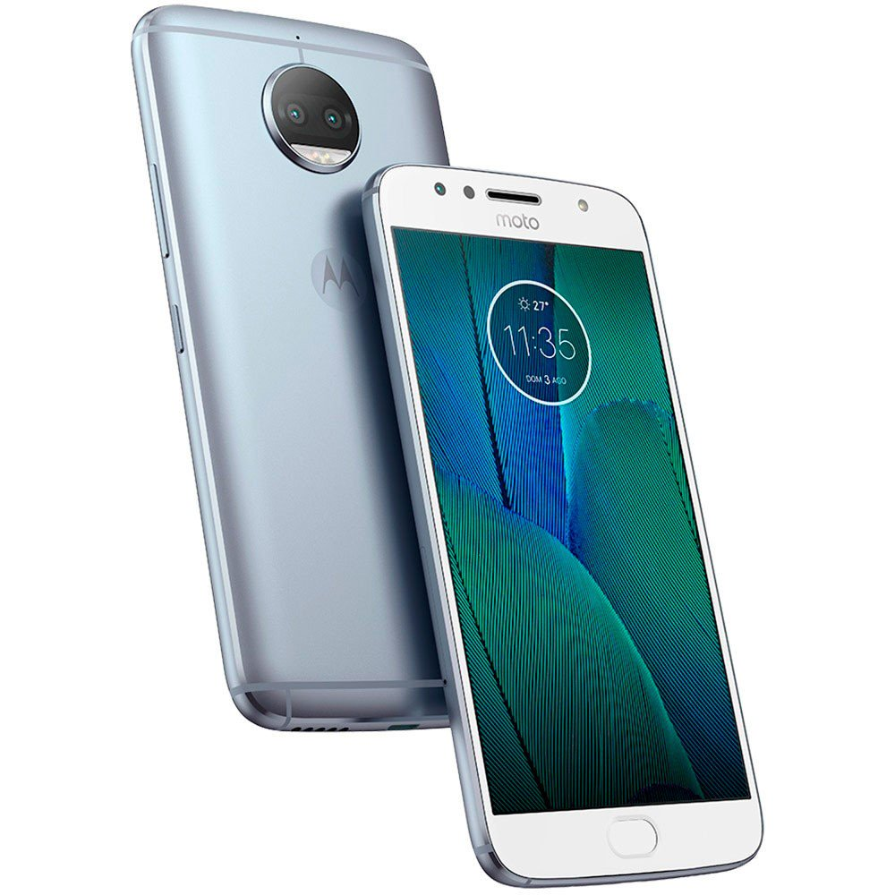 Smartphone Moto G5 S Plus TV Digital XT1802 Octa-Core Android 7.1, Tela 5.5, 32GB, 13MP, 4G, Dual Chip Azul Topázio - Motorola