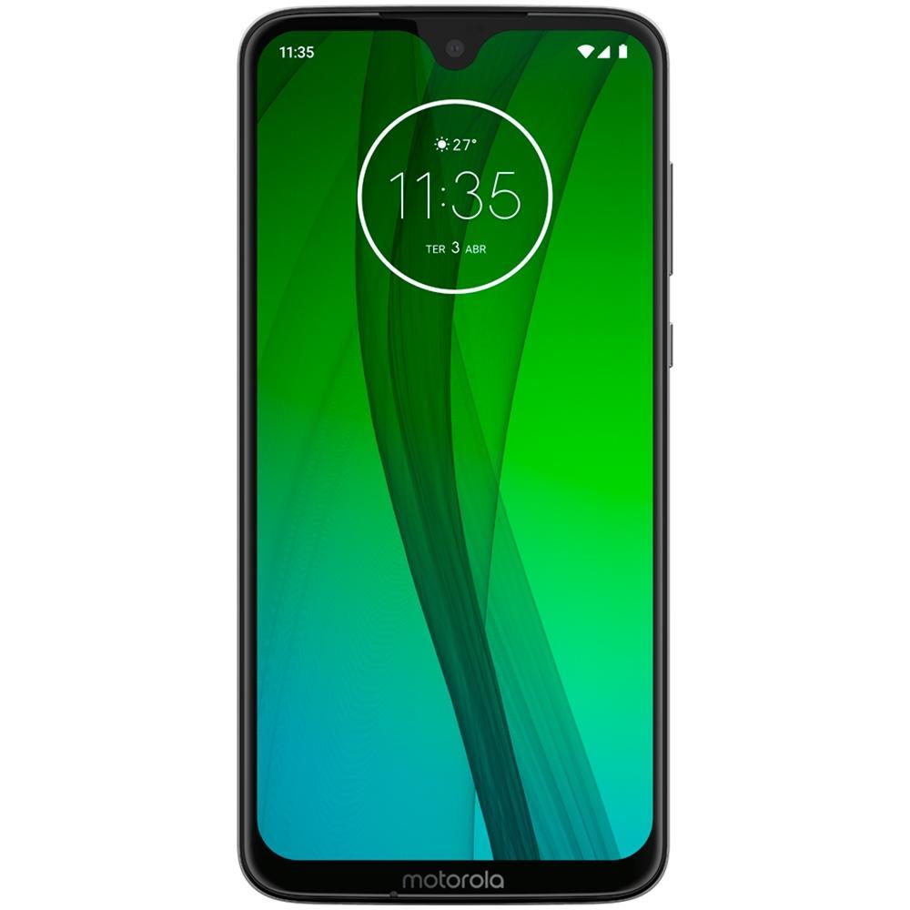 Smartphone Moto G7, 64GB, 12MP, Tela 6.2, Branco  XT1962-4 - Motorola
