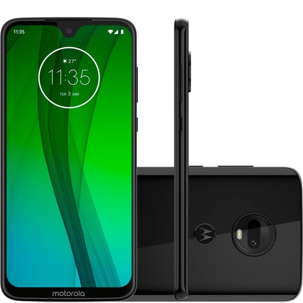 Smartphone Moto G7, 64GB, 12MP, Tela 6.2, Ônix XT1962-4 - Motorola