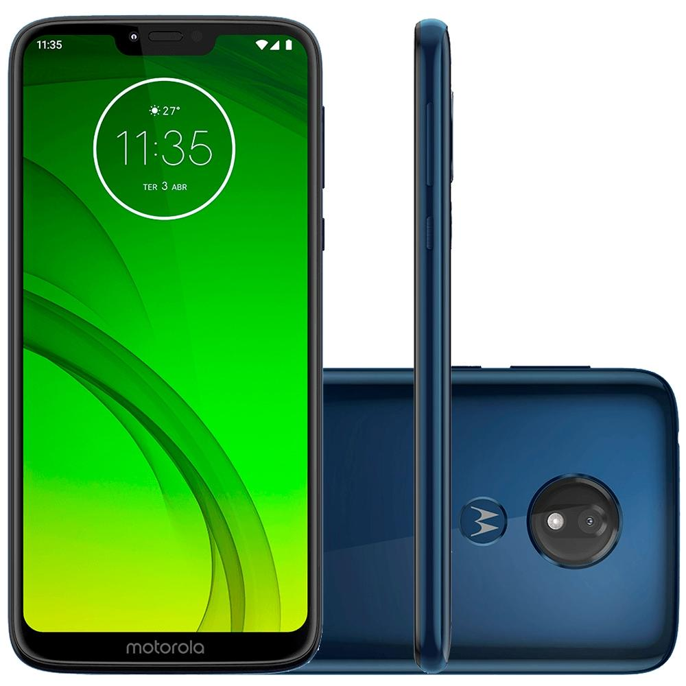 Smartphone Moto G7 Power, 64GB, 12MP, Tela 6.2, Azul Navy - XT1955-1 - Motorola