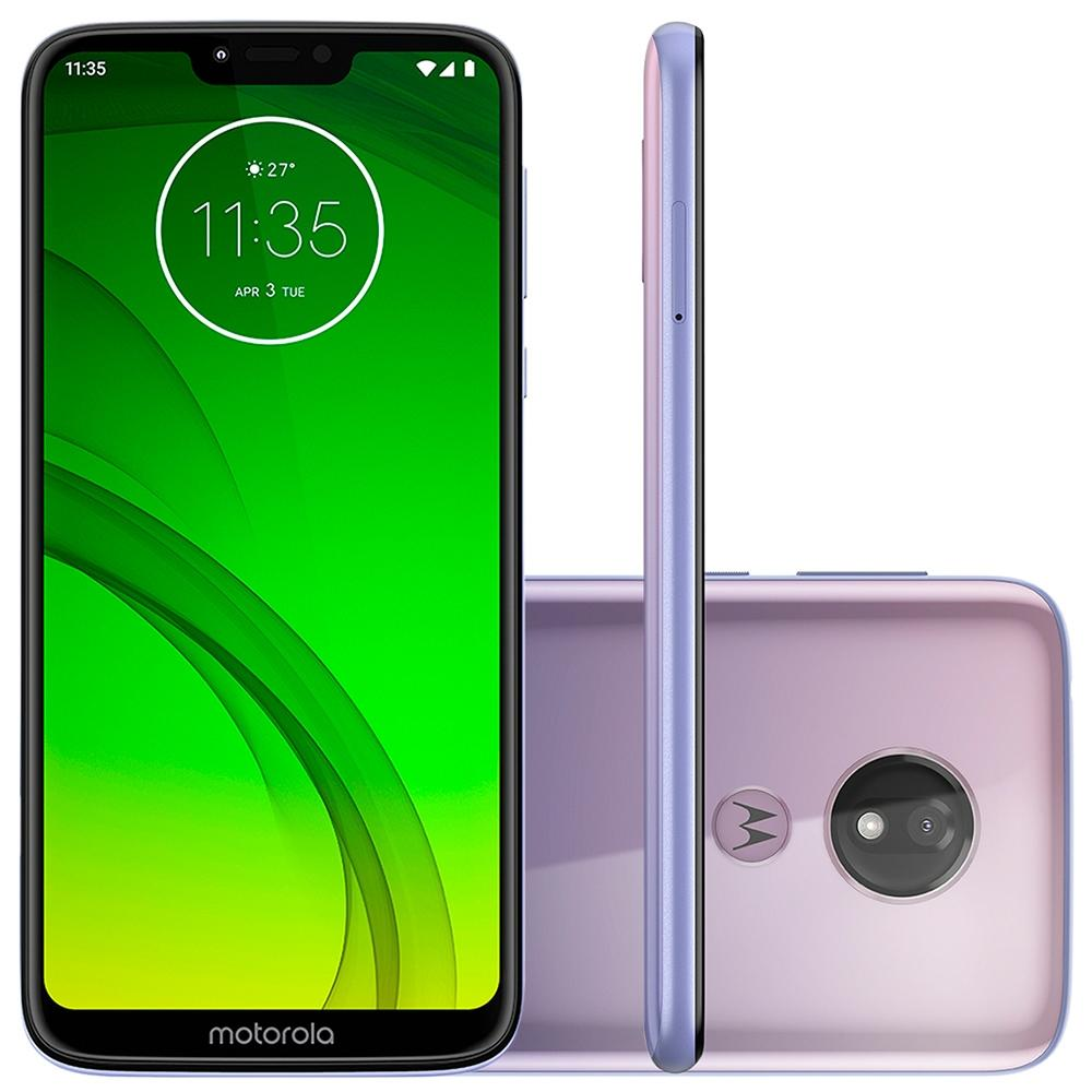 Smartphone Moto G7 Power, 64GB, 12MP, Tela 6.2, Lilac XT1955 - Motorola