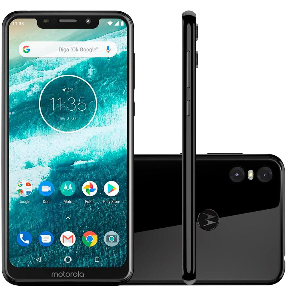 Smartphone One, 64GB, 13MP, Tela 5.9, Preto XT1941-3 - Motorola