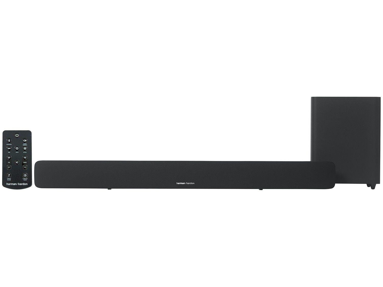 Soundbar HK SB20 96W RMS Alta Definição (Bluetooth/Subwoofer Wireless) HKSB20BLKBR - Harman Kardon