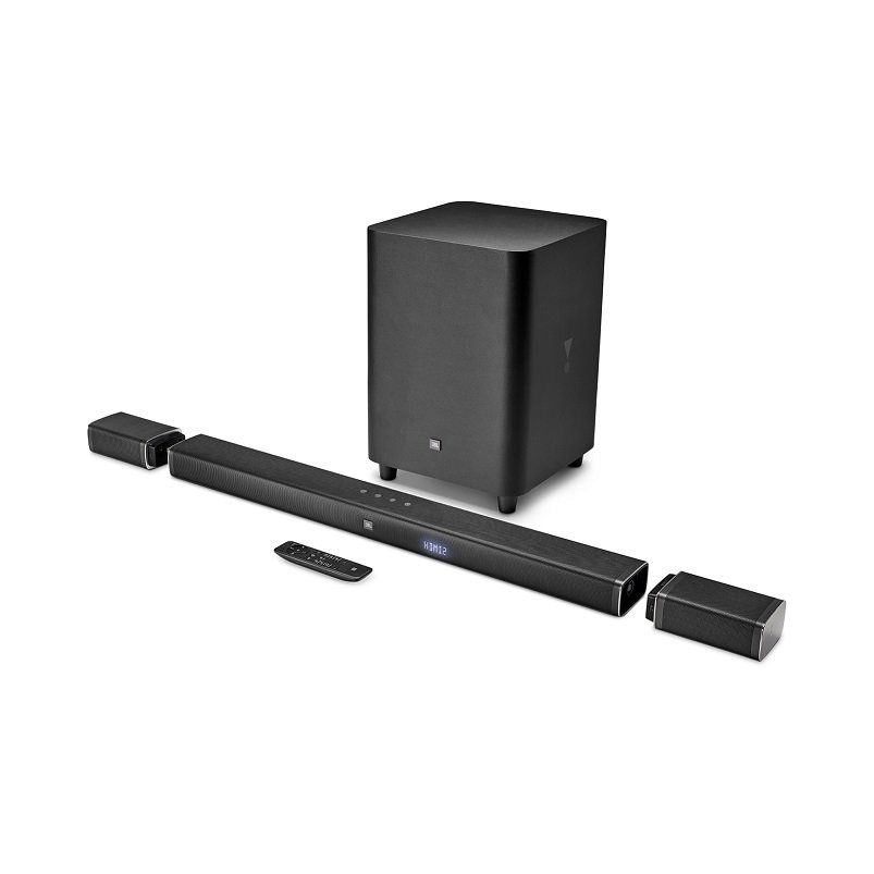 Soundbar JBL Bar 5.1 Bluetooth com Subwoofer 4K Ultra HD 510W JBLBAR51BLKBR - JBL
