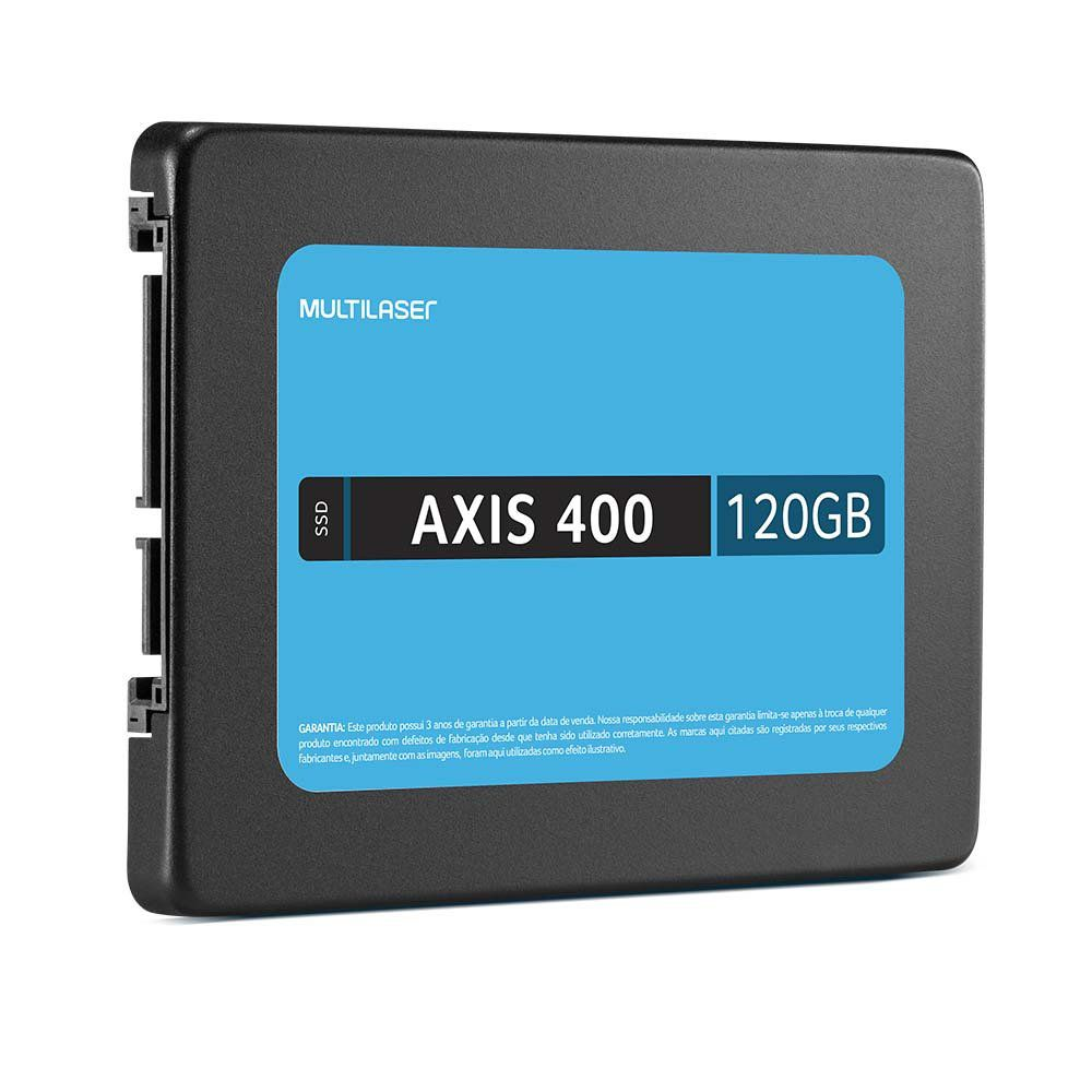 SSD 120GB AXIS 400 Sata III SS101 - Multilaser