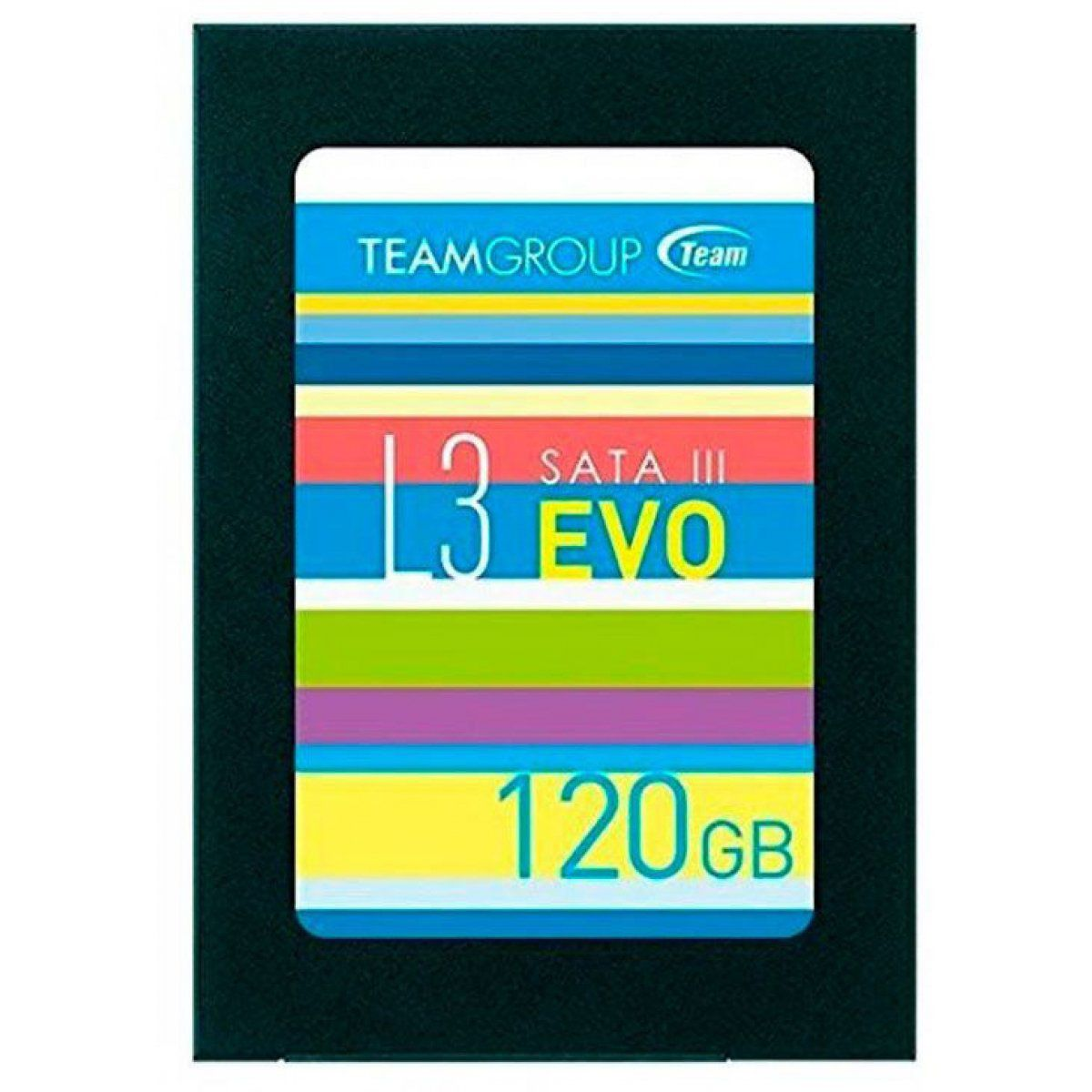 SSD 120GB L3 EVO T253LE120GTC101 SATA III 2.5 - Team Group