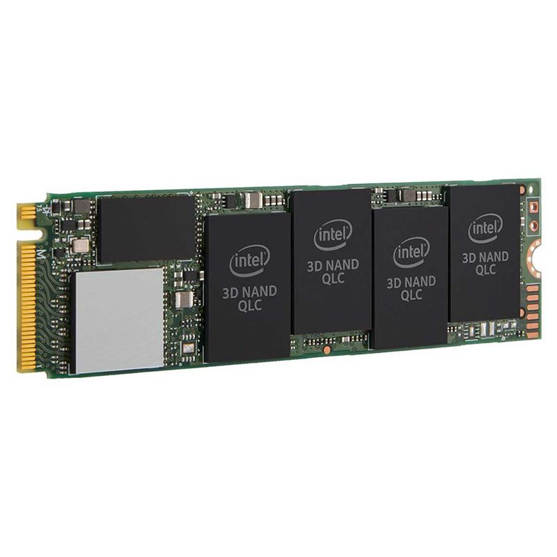 SSD 1TB 660P Series M.2 80mm PCI-E 3.0 X4 SSDPEKNW010T8X1 Leitura 1800Mb/s, Escrita 1800Mb/s - Intel