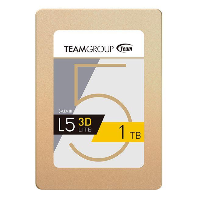 SSD 1TB L5 LITE 3D Sata III 2,5 T253TD001T3C101 - Team Group