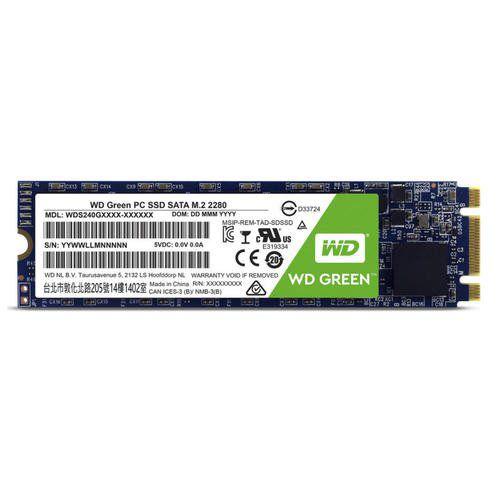 SSD 240GB M.2 2280 Sata 3 (Leitura de 545MB/s) WDS240G2G0B - Western Digital
