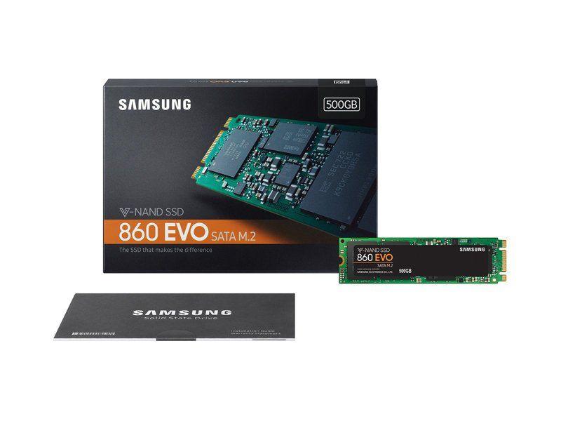 SSD 500GB 860 EVO Sata M.2 (V-NAND Tecnology) MZ-N6E500 - Samsung
