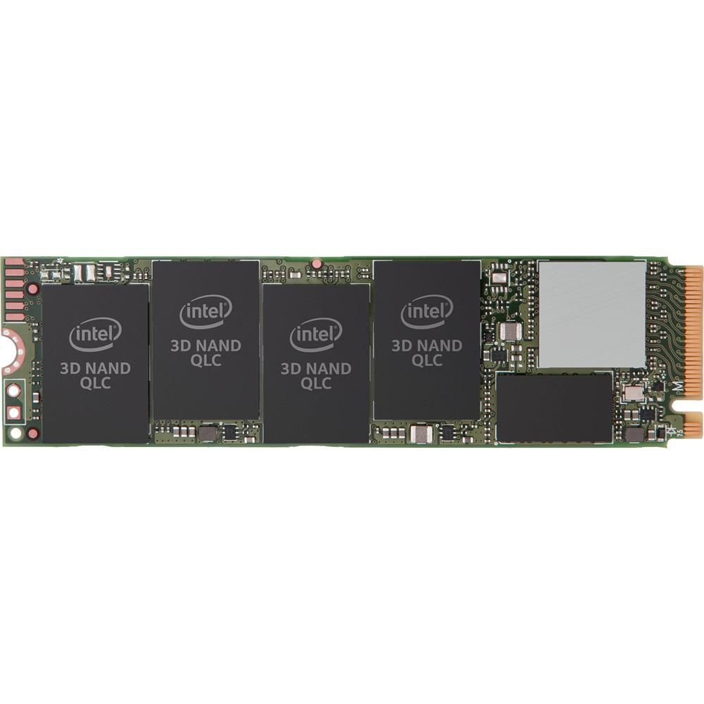 SSD 512GB 660P Series M.2 80mm PCI-E 3.0 X4 SSDPEKNW512G8X1 leitura 1500Mb/s, Escrita 1000mb/s - Intel