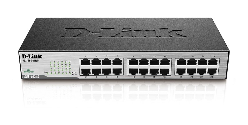 Switch DES-1024D 24 Portas 10/100Mbps - Dlink