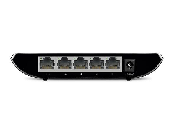 Switch Gigabit de Mesa 5 Portas 10/100/1000 TL-SG1005D V8.0 - TP-Link