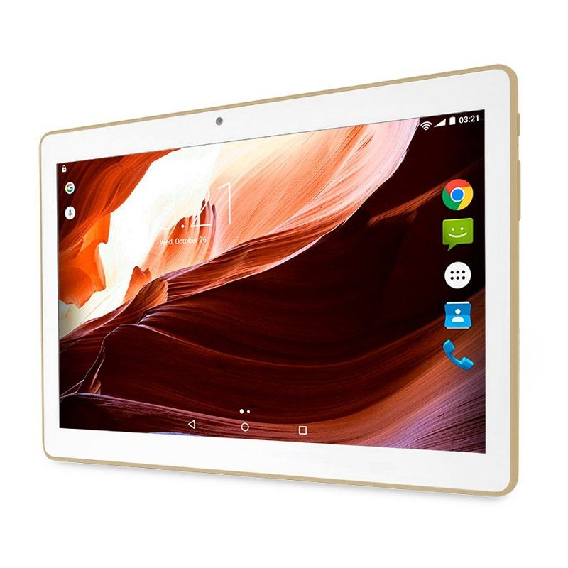 Tablet M10A 3G Quad Core 10 Wi-Fi Bluetooth GPS Android 7.0 Dourado NB277 - Multilaser