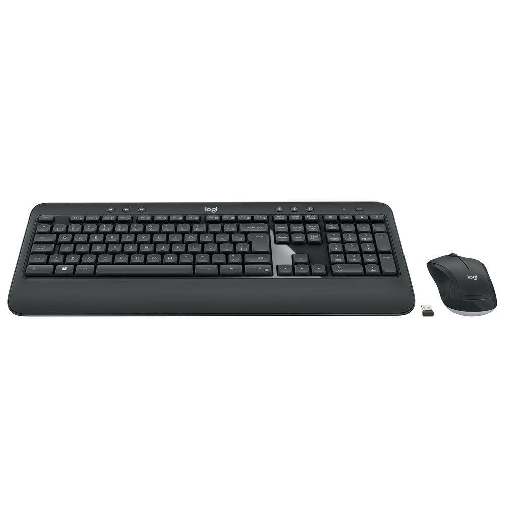 Teclado e Mouse Sem Fio MK540 Advanced Multimídia Unifying 920-008674 - Logitech