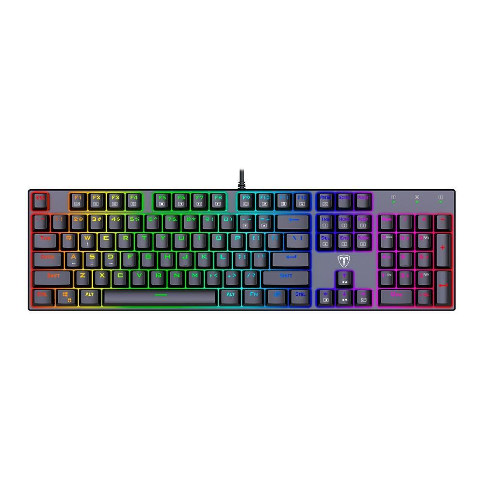 Teclado Mecânico Gamer Frigate RGB (Switch Outemu MK2 Blue) ANSI T-TGK306-BLUE - T-Dagger