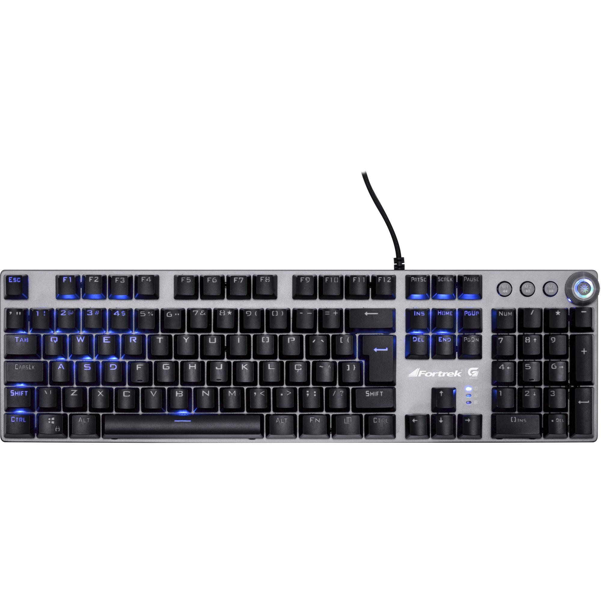 Teclado Mecânico Gamer G PRO K7 RGB (ABNT 2) 67703 - Fortrek