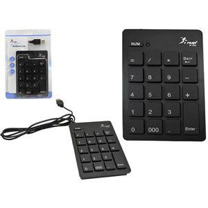 Teclado numérico Emborrachado KP-2003 TC0008KP - Knup