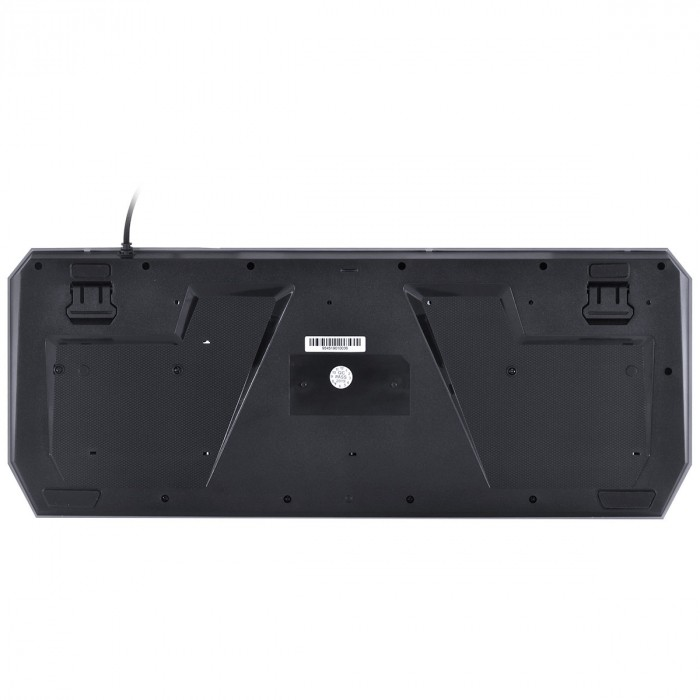 Teclado USB Gamer Draco Multimídia Preto GT400 - Vinik