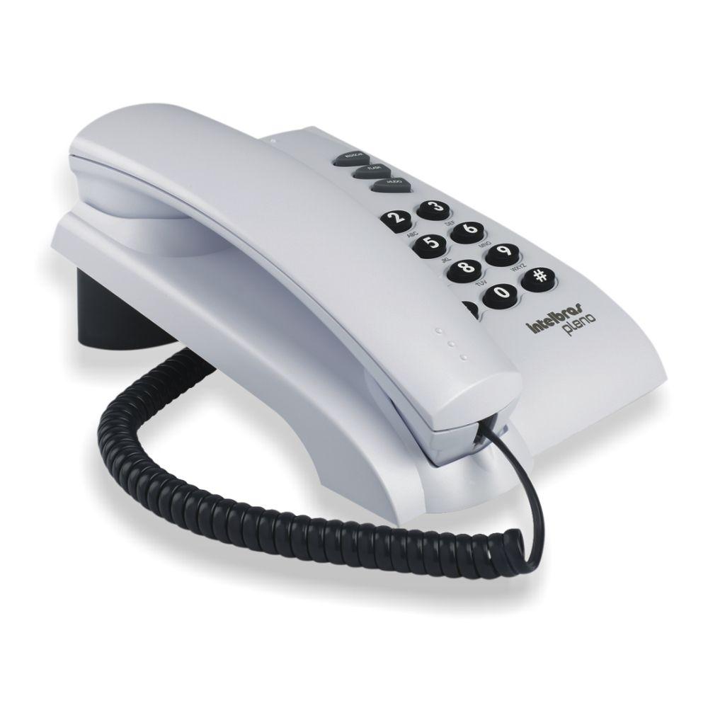Telefone Pleno Cinza Artico - Intelbras