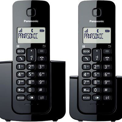 Telefone s/ fio Dect 6.0 c/ identificador de chamadas + Ramal KXTGB112LBB - Panasonic