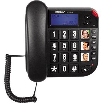 Telefone Tok Fácil ID com Identificador de Chamadas, Viva Voz - Intelbras