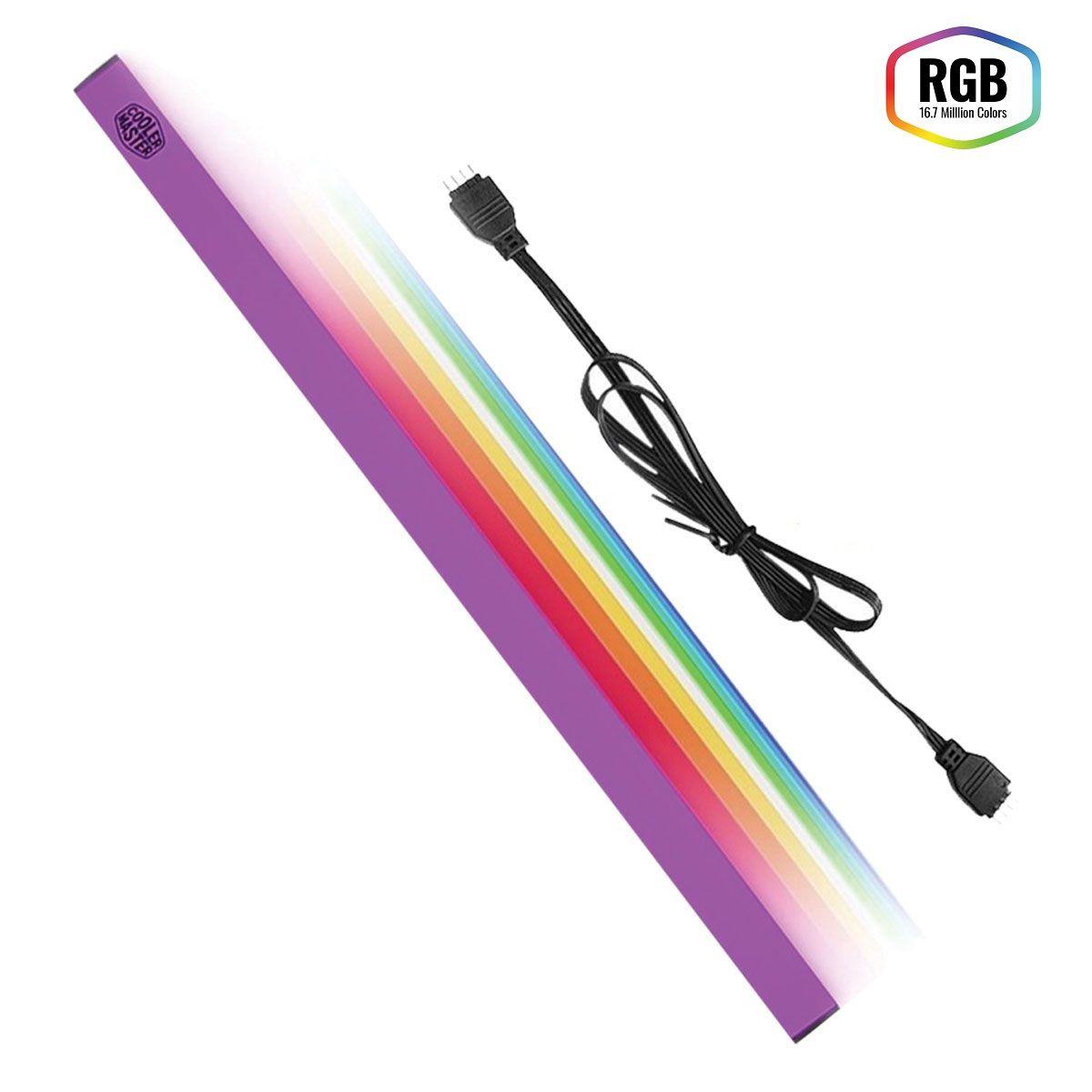 Tira de Led Magnética Universal com RGB MCA-U000R-CLS000 - Cooler Master