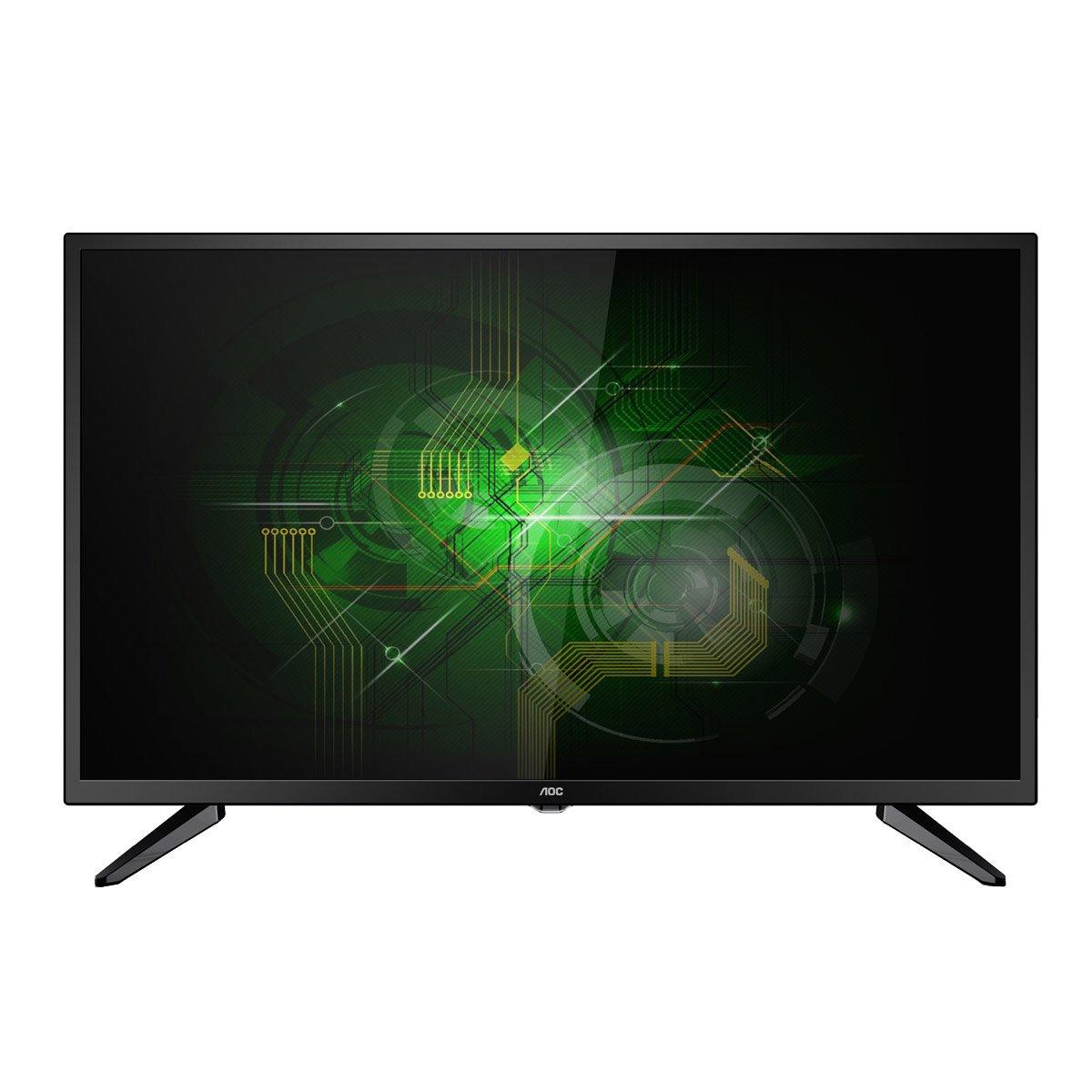 TV Led 32 LE32M1475 HD 2 HDMI 1 USB Preto com Conversor Digital Integrado - AOC