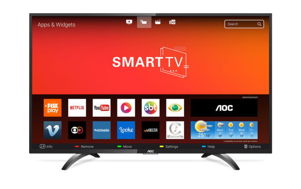 TV Smart LEd 43 FHD LE43S5970S FHD Bivolt - AOC