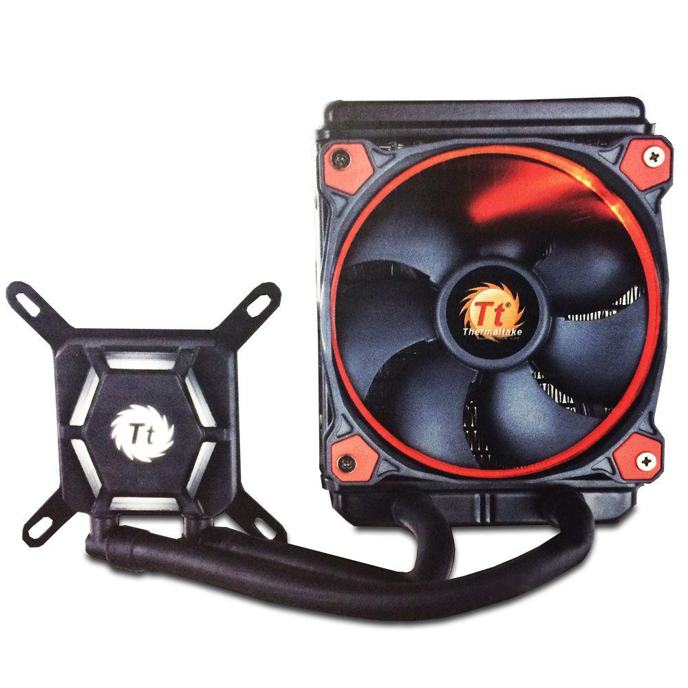 Water Cooler 3.0 X120 Vermelho CL-W159-PL12RE-B INTEL/AMD - Thermaltake