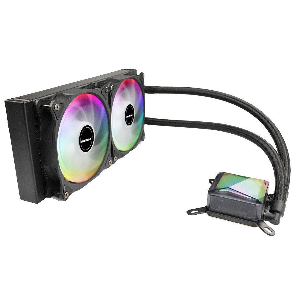 Water Cooler Algor RGB 240MM MYC/FC-V2-240-RGB - Mymax