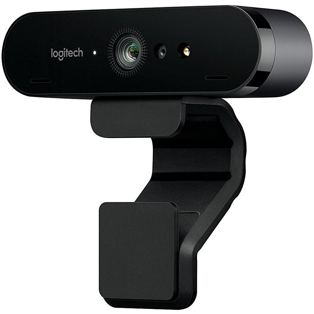Webcam Brio 4K Pro Full HD Tecnologia HDR RightLight 3 - Logitech
