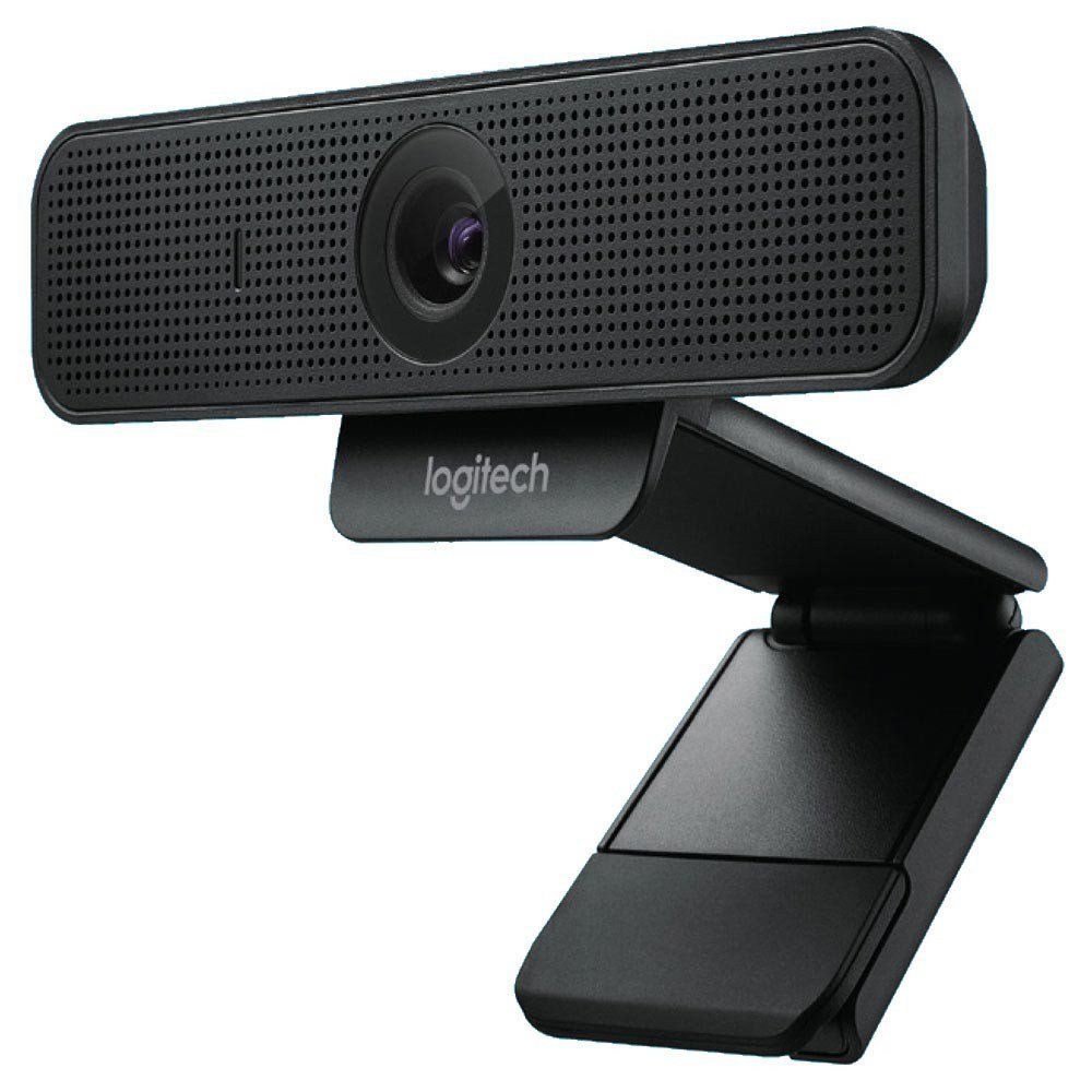 Webcam C925e HD com vídeo 1080p 30 FPS Preta - Logitech