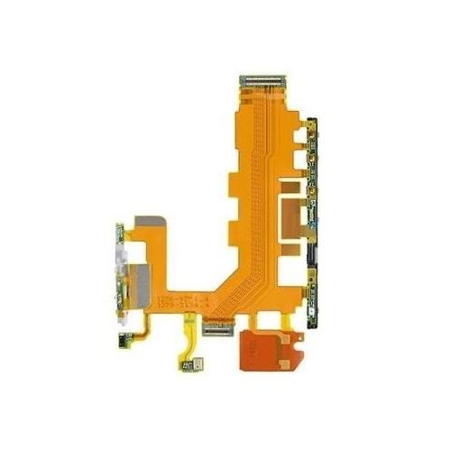 Flex Botão Volume Power e Microfone com Flex Sony Xperia Z2 D6502  D6503  D6543  D6563