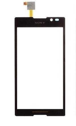 Touch Sony Xperia C C2304 C2305 Preto - 1 Linha