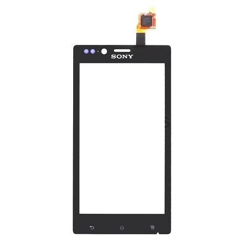 Touch Sony Xperia J St26A Preto - 1 Linha