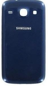 Tampa Traseira da Bateria Samsung S3 Duos I8262 Azul