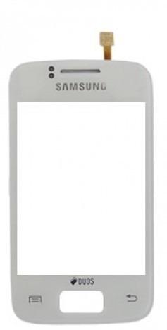 Touch Samsung Galaxy Y Duos S6102 Branco - 1ª Linha