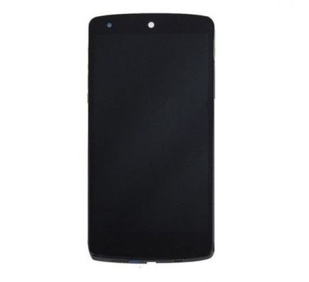 Display Frontal LG Nexus 5 D820 D821 Preto com Aro 1 Linha