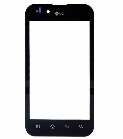 Tela Touch LG Optimus P970 Preto - 1ª Linha