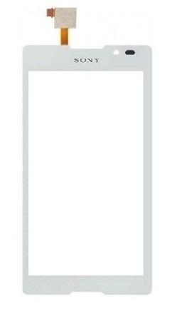 Tela Touch Sony Xperia C C2304 C2305 S39 Branco - 1ª Linha