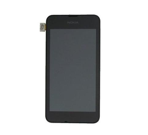 Frontal Nokia Lumia 530 N530 Preto com Aro