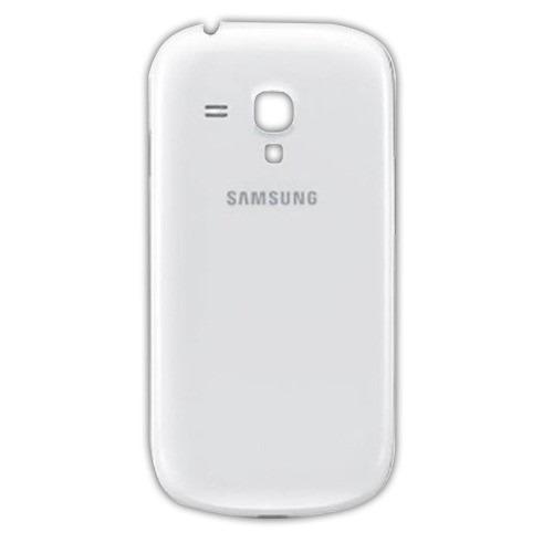 Tampa Bateria Traseira Samsung S3 Mini Gt-I8190L Branco