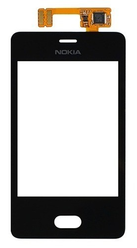 Touch Nokia Asha N501 Preto 1 Linha