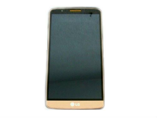 Frontal LG Optimos G3 D855 Dourado