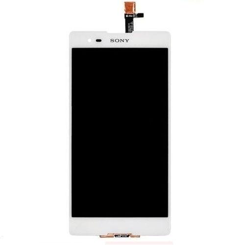 Frontal Sony Xperia T2 Ultra Dual D5322 Branco Sem Aro 1 Linha